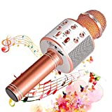 Suntop Micrófono Karaoke Bluetooth, Micrófono Inalámbrico Bluetooth,...