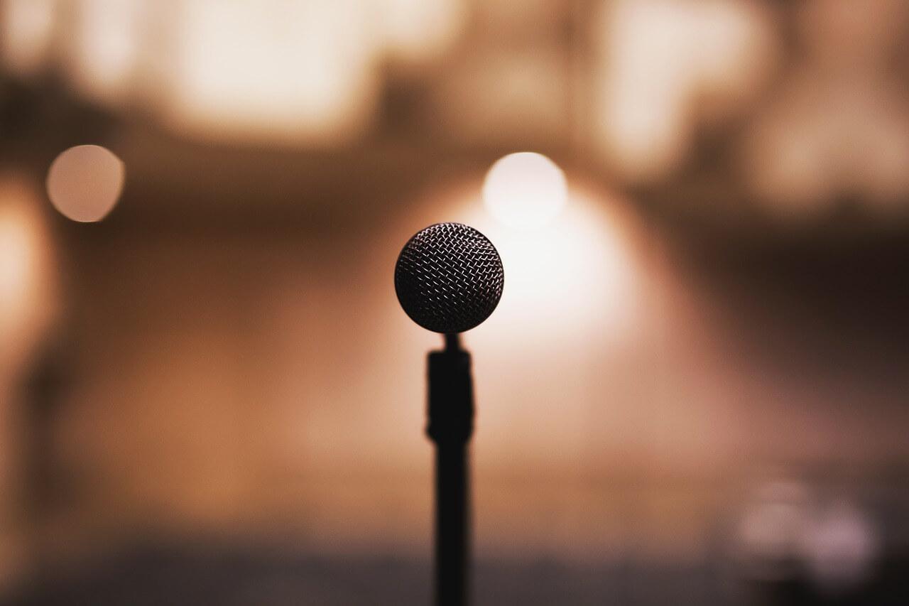 Micrófono inalámbrico para conciertos