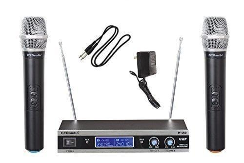 Dos Micrófonos de Mano para Karaoke